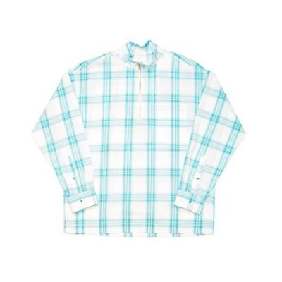 tシャツ Tシャツ ALLEGE / アレッジ Check Half Zip Shirt