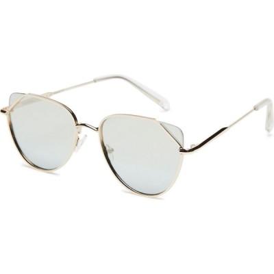 ケンダルアンドカイリー Kendall and kylie レディース メガネ・サングラス aria sunglasses Shiny light gold