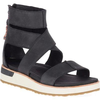 メレル サンダル レディース シューズ Merrell Women's Roam Mid Cross Sandal Black