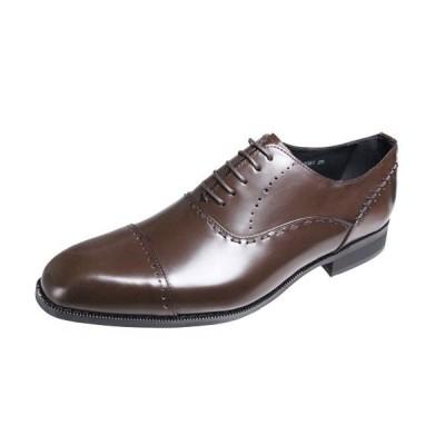 トラサルディメンズシューズTRUSSARDIストレートチップ内羽根紳士靴13081ダークブラウン