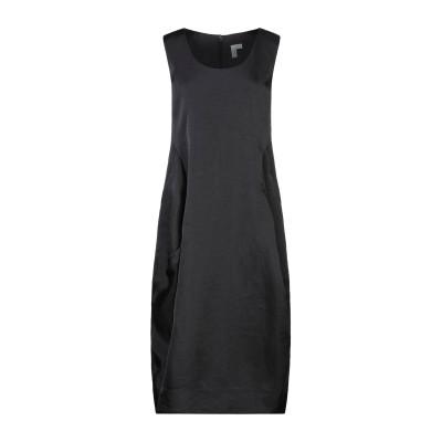 コム デ ギャルソン・シャツ COMME des GARÇONS 7分丈ワンピース・ドレス ブラック S ナイロン 100% 7分丈ワンピース・ドレス