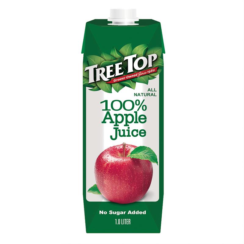 樹頂100純蘋果汁1000ml
