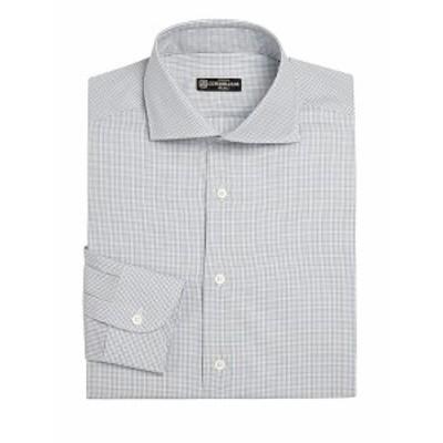 コーネリアーニ メンズ ドレスシャツ ワイシャツ Regular-Fit Dress Shirt