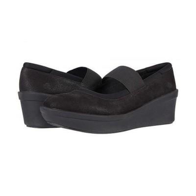 Clarks クラークス レディース 女性用 シューズ 靴 ヒール Step Rose Ivy - Black Textile