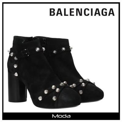バレンシアガ ブーツ レディース 黒 ブラック BALENCIAGA 靴 スタッズ