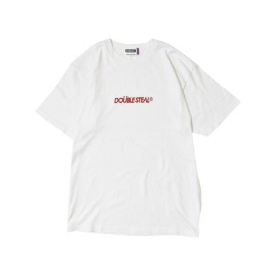 DOUBLE STEAL / small basic logo Tシャツ MEN トップス > Tシャツ/カットソー