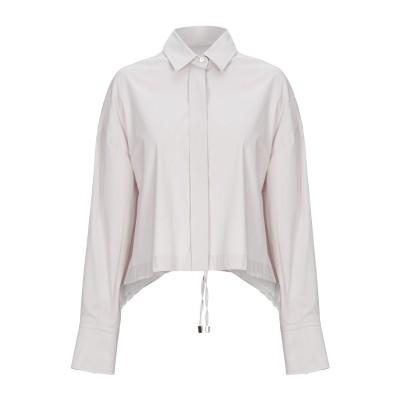 ANGELA MELE MILANO シャツ ライトグレー XS コットン 78% / ナイロン 19% / ポリウレタン 3% シャツ
