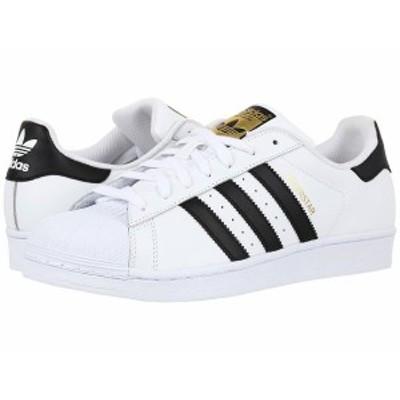 アディダス メンズ スニーカー シューズ Superstar Foundation White/Black/White 2