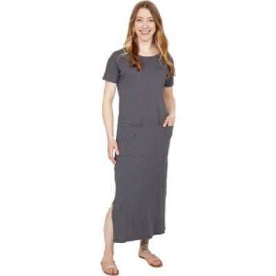 パクト PACT レディース ワンピース ワンピース・ドレス Organic Cotton Pocket Maxi Dress Storm