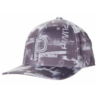 プーマ メンズ 帽子 アクセサリー Hacked P 110 Snapback Cap Quiet Shade/Hig