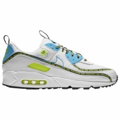 (取寄)ナイキ メンズ シューズ エア マックス 90 Nike Men's Shoes Air Max 90 White Blue Fury Black Volt 送料無料