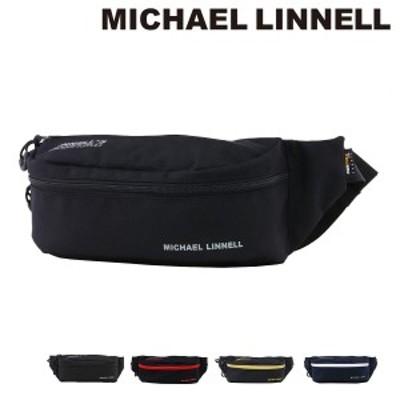 【レビューを書いてポイント+5%】マイケルリンネル ウエストポーチ メンズ レディース MLCD-700 MICHAEL LINNELL ウエストバッグ ボデ