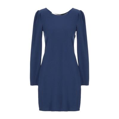 メット MET JEANS ミニワンピース&ドレス ブルー S レーヨン 68% / ナイロン 24% / ポリウレタン 8% ミニワンピース&ドレス
