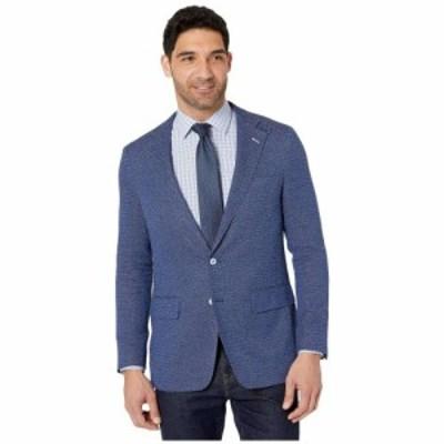 ロバートグラハム Robert Graham メンズ スーツ・ジャケット アウター Trinity Tailored Fit Sport Coat Blue