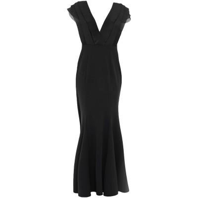 LIPSY ロングワンピース&ドレス ブラック 8 ポリエステル 97% / ポリウレタン 3% ロングワンピース&ドレス