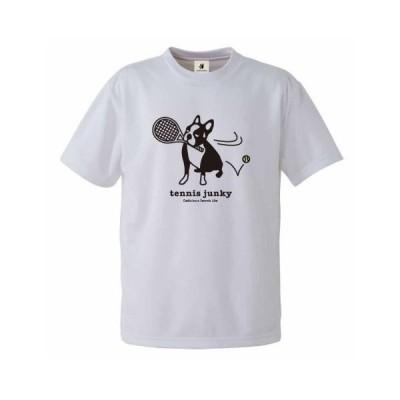 テニスジャンキー ユニセックス パンディアーニチャレンジ +15 ホワイト TJ20002 1