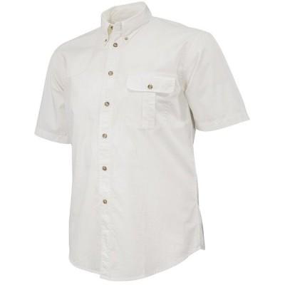ベレッタ メンズ シャツ トップス TM Short-Sleeve Woven Shooting Shirt White