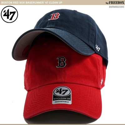 47Brand キャップ 47brand レッドソックス BOSTON RED SOX BASERUNNER '47 CLEAN UP