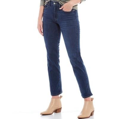 ラッキーブランド レディース デニムパンツ ボトムス Bridgette High Rise Straight Leg Jeans Bloom
