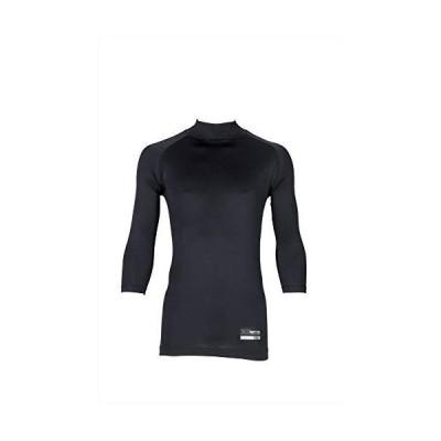 XANAX(ザナックス) 野球 アンダーシャツ ハイネック 7分袖 BUS-563 ブラック S 日本製