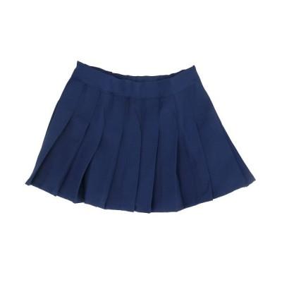 【バックヤードファミリー】 子供パンツインスカート 純色 キッズ ネイビー 150CM BACKYARD FAMILY