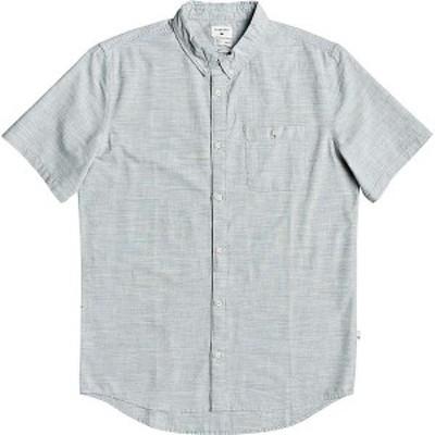 クイックシルバー メンズ シャツ トップス Quiksilver Men's Firefall SS Shirt Chinois Green