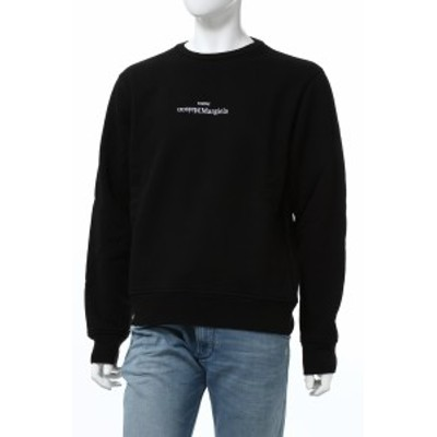 マルタンマルジェラ MARTIN MARGIELA トレーナー スウェット プルオーバー ブラック メンズ (S50GU0148S25451) 2020年秋冬新作 送料無料