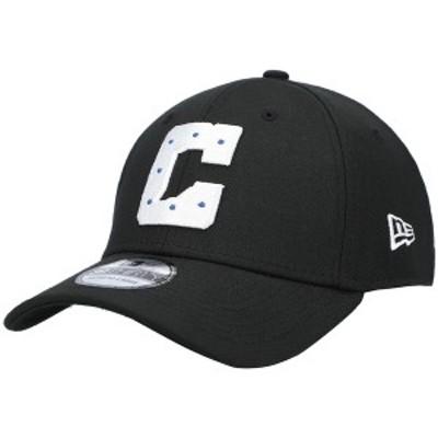 ニューエラ メンズ 帽子 アクセサリー Indianapolis Colts New Era Secondary Logo 39THIRTY Flex Hat ? Black