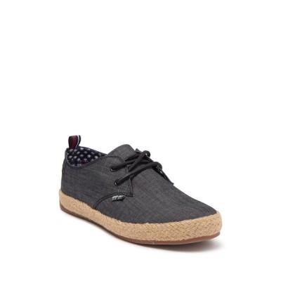 ベンシャーマン メンズ スニーカー シューズ New Jenson Lace-Up Sneaker BLACK TEXT