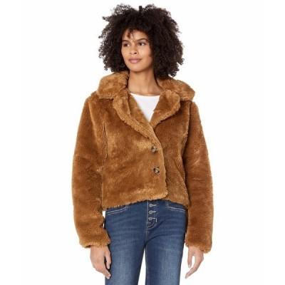 ロックアンドロールカウボーイ コート アウター レディース Faux Fur Jacket 52-6734 Golden Brown