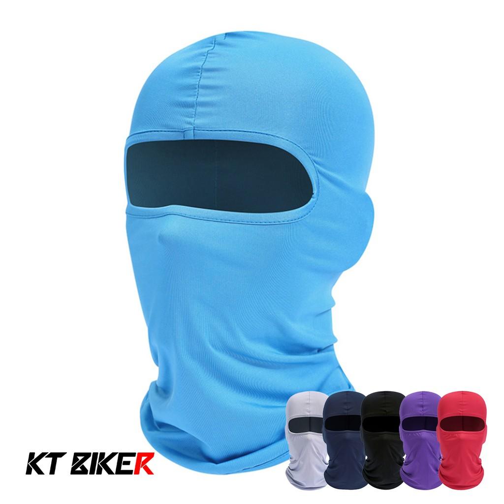 【KT BIKER】 萊卡頭套 (夏季型) 20種顏色 涼感 防曬 面罩 生存遊戲 CS 頭套 〔OFM002〕