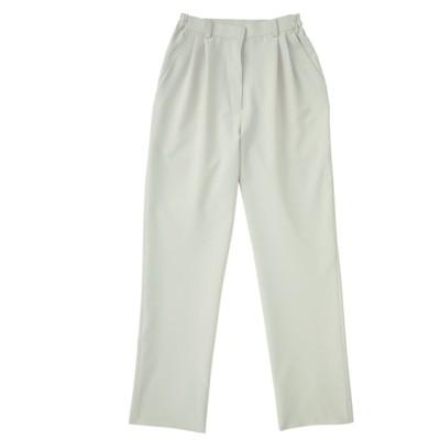 APK720 KAZEN レディスツータックパンツ ナースウェア・白衣・介護ウェア