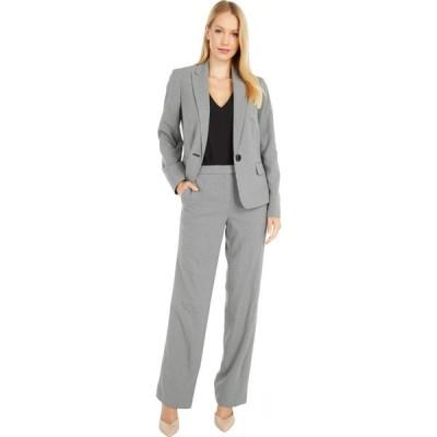 ル スーツ Le Suit レディース スーツ・ジャケット アウター Jacket/Pants Suit Set White/Black