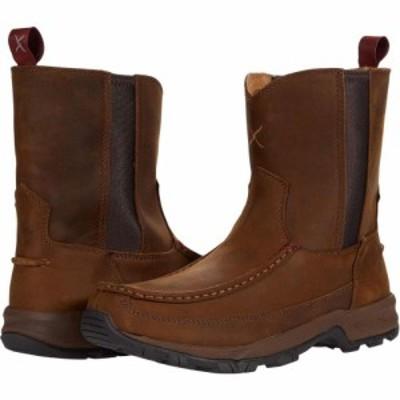 ツイステッドエックス Twisted X メンズ ブーツ シューズ・靴 MHKB003 Distressed Saddle/Saddle