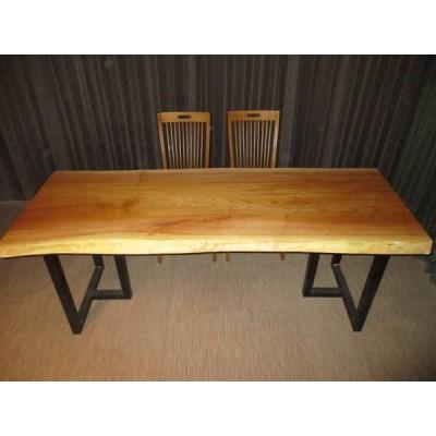 R-085■ 欅 ケヤキ テーブル 一枚板 無垢材 無垢 ダイニングテーブル センターテーブル リビングテーブル 豪華テーブル ローテーブル カウンター 座卓 天板