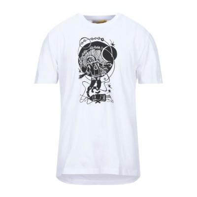 GEYM GO EAST YOUNG MAN T シャツ ホワイト S コットン 100% T シャツ