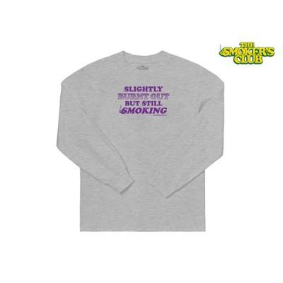 THE SMOKERS CLUB ザスモーカーズクラブ LONG SLEEVE STILL SMOKIN ロングスリーブ Tシャツ GREY