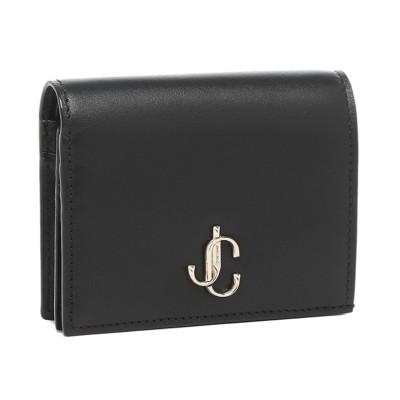 【ジミーチュウ】 ジミーチュウ 二つ折り財布 ハンヌ ミニ財布 ブラック レディース JIMMY CHOO HANNEPKR 14503855 レディース その他 フリー JIMMY CHOO