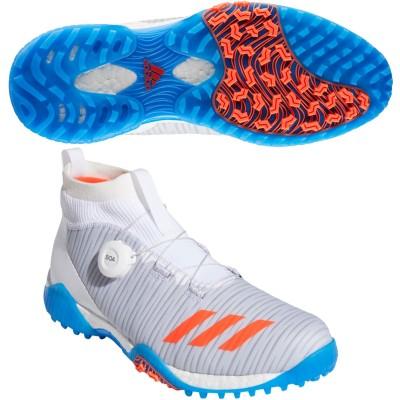 アディダス Adidas コードカオス ボア シューズ 26.5cm ホワイト/ソーラーレッド/ライトソリッドグレー