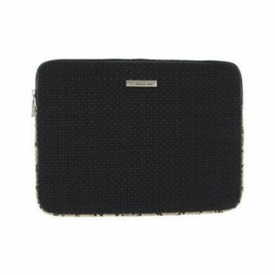 Bernie Mev  ファッション バッグ Bernie Mev Womens  BM19 Medium Laptop Case Natural Snake Faux Leather/Black