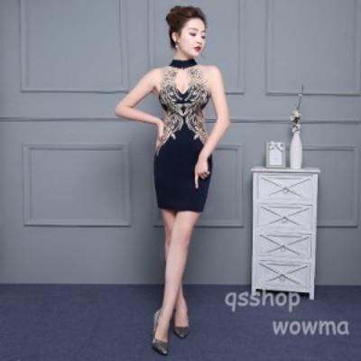 レディース イブニングドレス 新品 フォーマルウエア セクシー 披露宴 宴会 パーティ 衣装