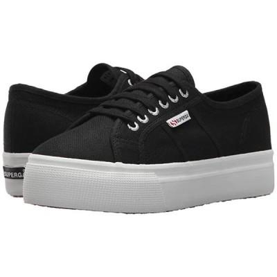 スペルガ 2790 Acotw Platform Sneaker レディース スニーカー Black/White
