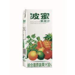 波蜜 果菜汁300ml(24入/箱)