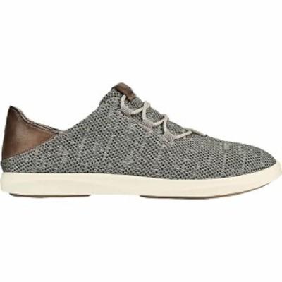 オルカイ OluKai レディース シューズ・靴 Olukai Haleiwa Li Haa Shoe Silt/Off White