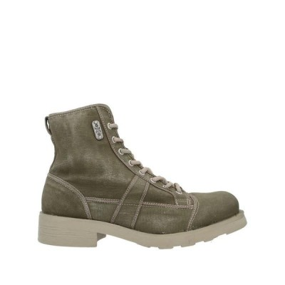 O.X.S. ショートブーツ  メンズファッション  メンズシューズ、紳士靴  ブーツ  その他ブーツ ミリタリーグリーン