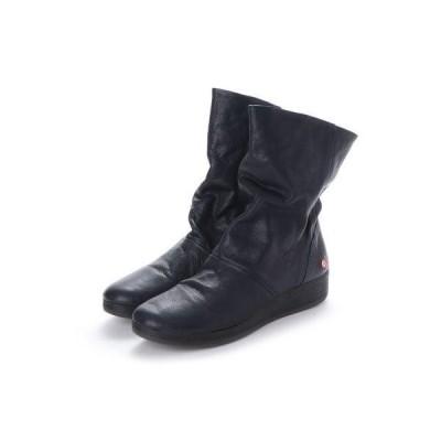 ヨーロッパコンフォートシューズ EU Comfort Shoes Softinos ミドルブーツ(900.417) (ネイビー)