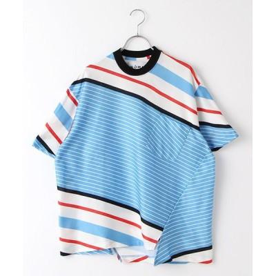 STYLE & EDIT/スタイル&エディット Tシャツ BLUE F