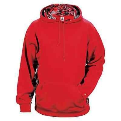 スウェット パーカー アンブランデッド Digital Color Block Men's Performance Red/Red Digital Hoodie