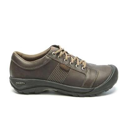 キーン メンズ スニーカー シューズ Keen Men's Austin Shoe Chocolate Brown