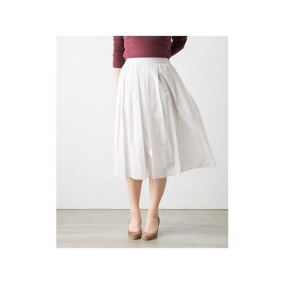 【70%OFF】ヤンガニー yangany ボイルタック ギャザー スカート 3色 F-5115 メール便OK